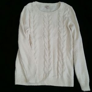 J Crew Cream Sweater